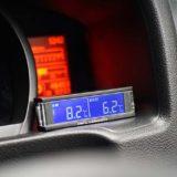 外気温計の取り付け