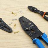 失敗しないギボシ端子の圧着(かしめ)に、圧着工具フジ矢FA203、ホーザンP-707の紹介