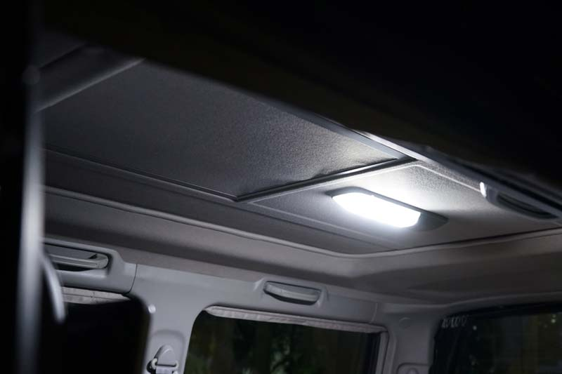 蛍光灯のルームランプをLEDに交換