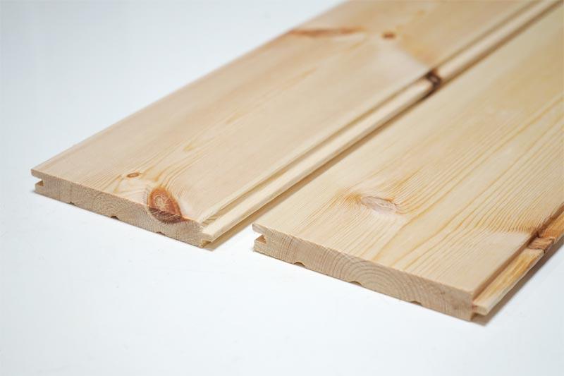天板に使った、フローリング材