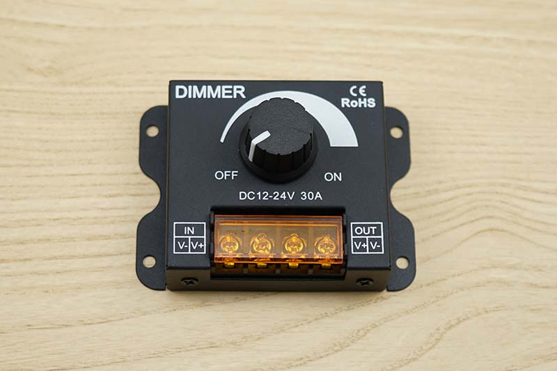 LEDパラダイス 調光器 DC12-24V 30A[8179]