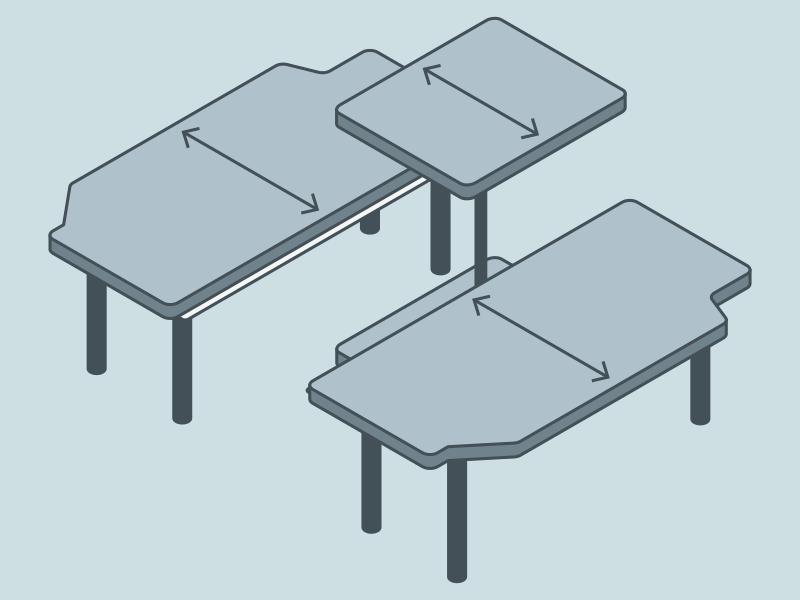 NV200 車中泊ベッドDIY テーブルとベンチのサイズ
