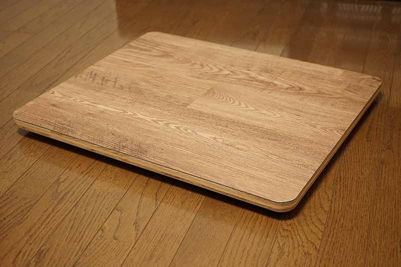 テーブル製作 テーブルの底板