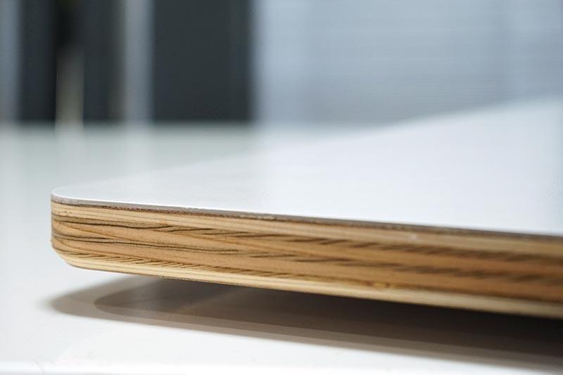 テーブル製作 天板の小口