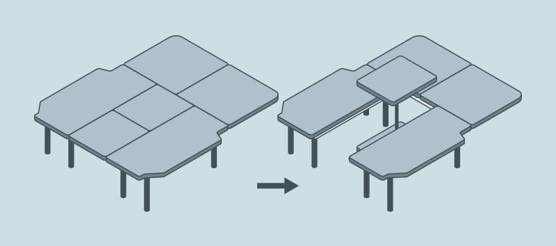 NV200 テーブルの製作