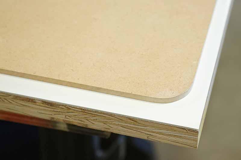 テーブル製作 トリマー R加工用治具